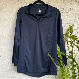 Adidas navy blue thin jacket